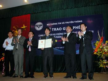 Lễ trao giấy phép chứng thực số NewCA
